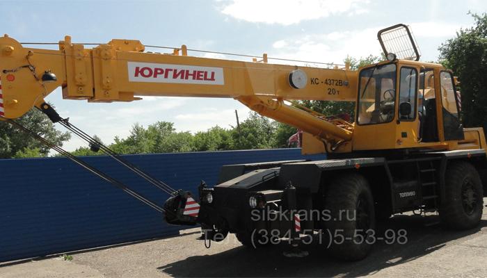Фото - самоходный кран Юргинец КС-4372В